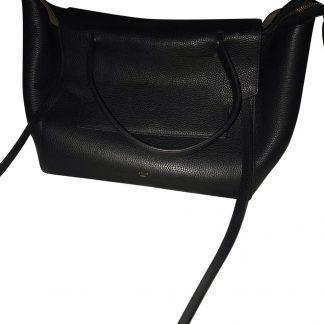 The Best Céline Imitation Belt Black Grained Leather Tote high quality  prada replica handbags f6251c489d932